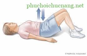 Bài tập vật lý trị liệu cho thoái hóa cột sống thắt lưng - Lắc xương chậu