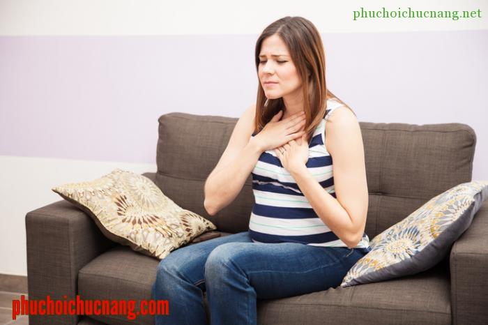 ợ nóng khi mang thai